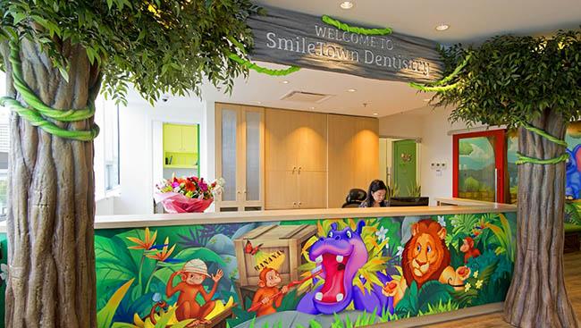 兒童牙醫環境